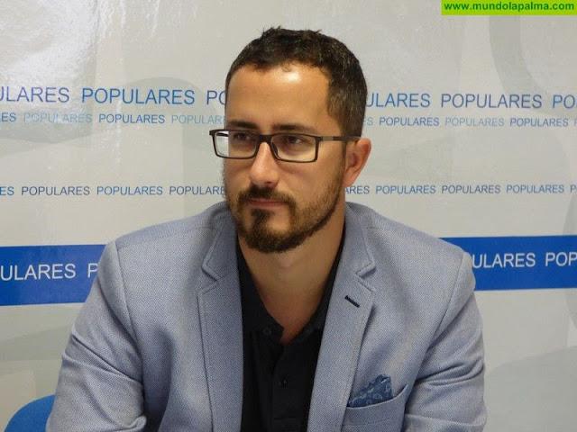 Los Populares de Santa Cruz de La Palma lamentan la falta de previsión y de inversiones de futuro para la isla Bernardo López