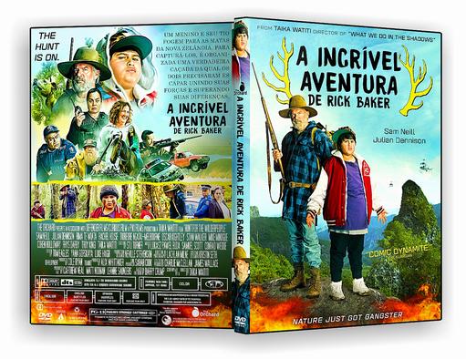 DVD – A INCRÍVEL AVENTURA DE RICK BAKER 2018 – ISO