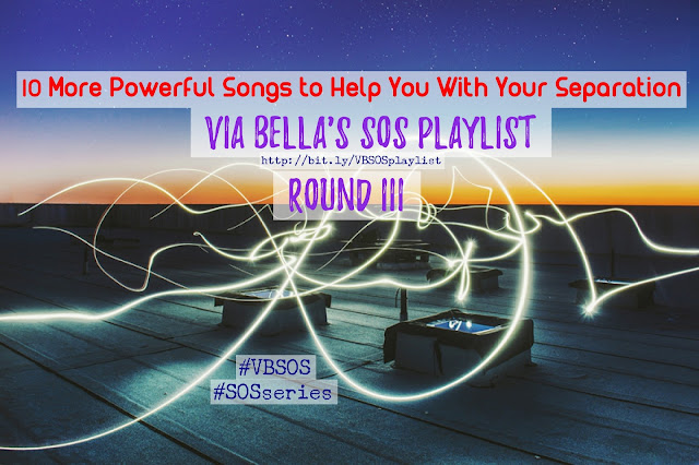 10 More Powerful Songs to Help With Your Separation (Round III) {SOS Playlist}, separation, divorce, music heals, fall, winter, beyonce, kelly clarkson, demi lovato, bill withers, toni braxton, roxette, timbaland, one republic, three days grace, powerful songs, SOS series, VBSOS, Via Bella, top music, play list, Shades of Separation