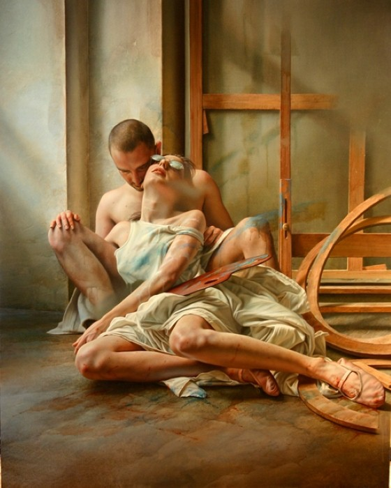 Смесь сюрреализма и реализма Istavan Sandorfi 11