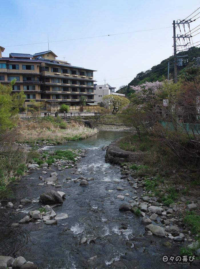 Rivière et montagne sous le soleil, Hakone