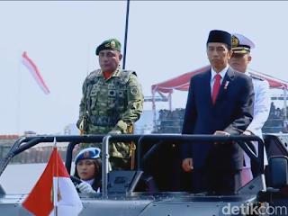 Jokowi: TNI di Atas Semua Golongan, Tak Masuk Politik Praktis