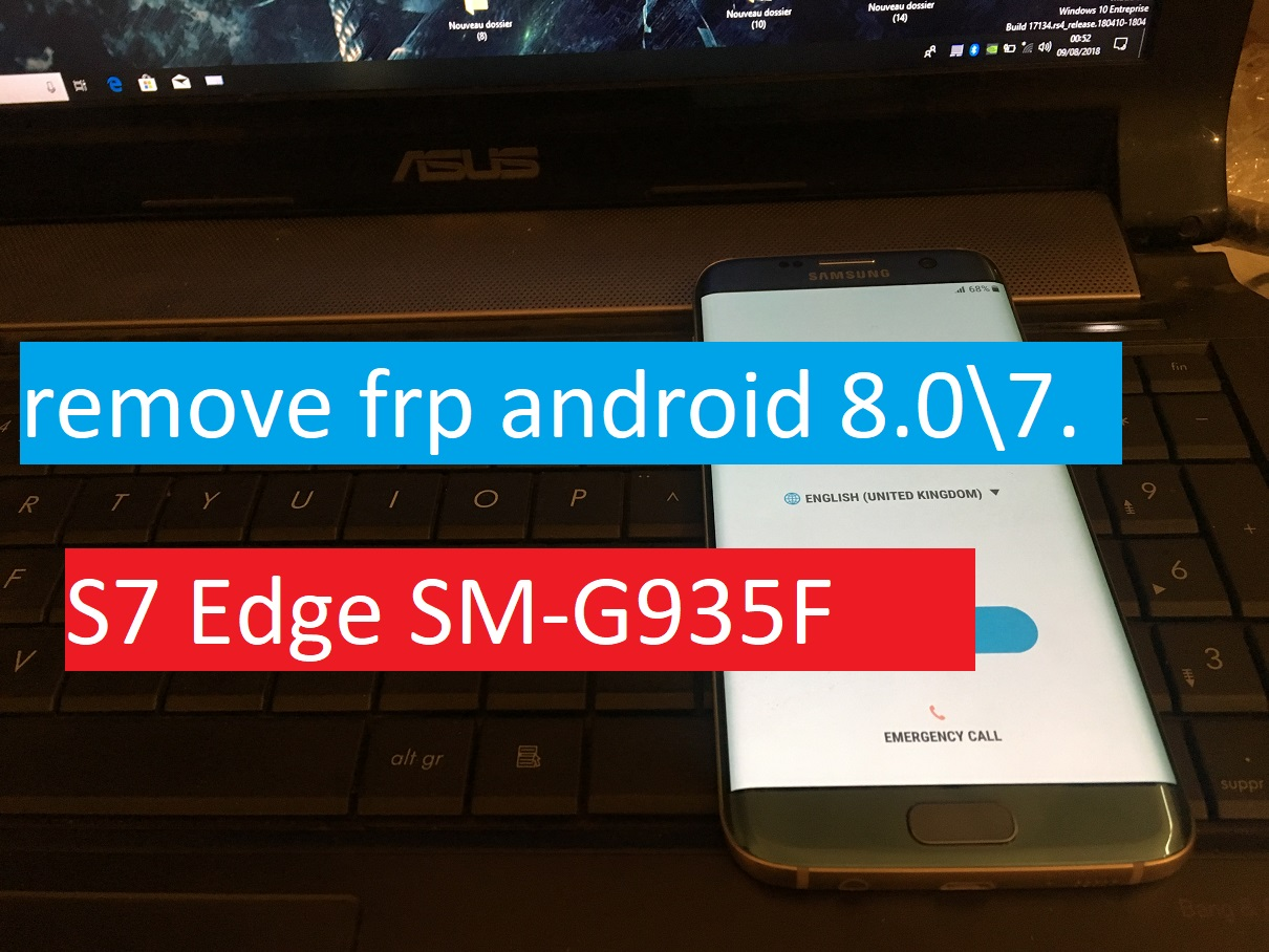 2018 💯%Samsung S7 Edge SM-G935F Android 8 Binary 2 Remove