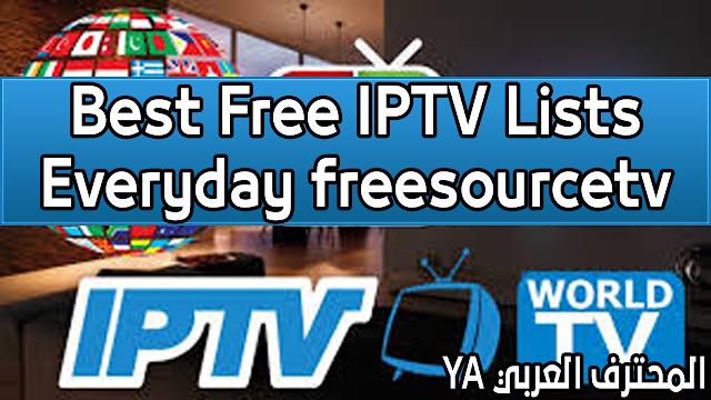 Best Free IPTV Lists Everyday Download Free M3U IPTV Worldwide Channels