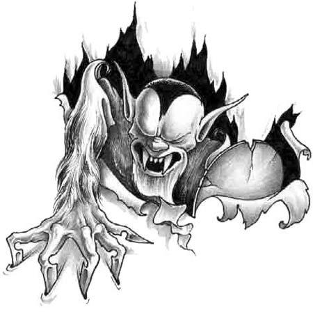 Tatuaże Demony