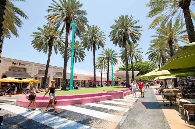 Lojas da Lincoln Road em Miami