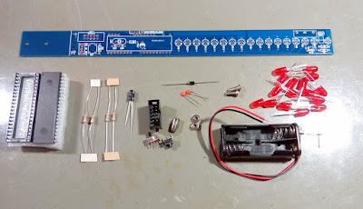 Bastão de LED POV