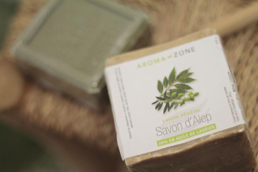 savon alep acné solide zéro déchet
