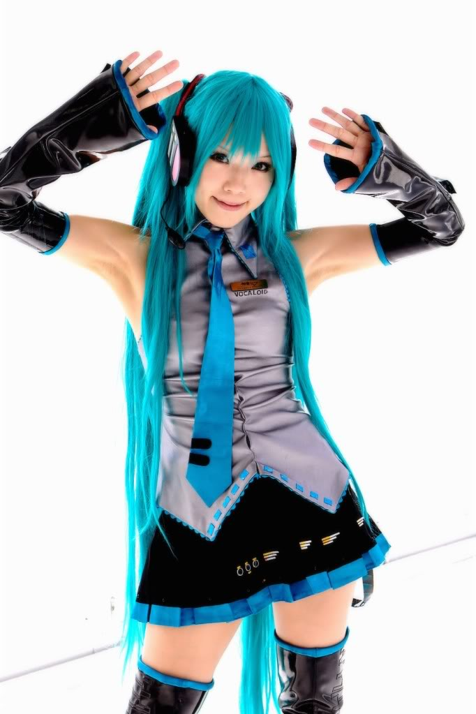 hatsune miku cosplay - photo #8