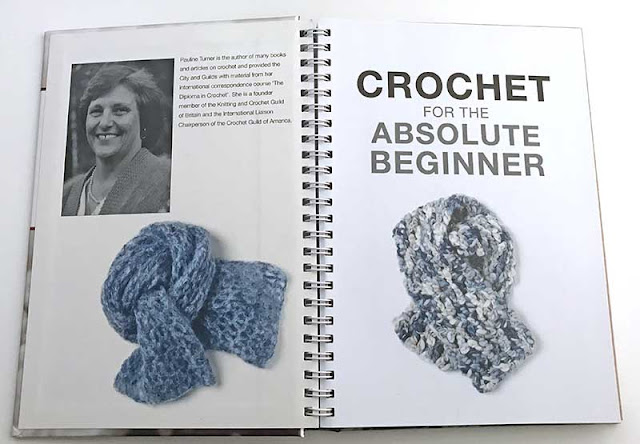 Inside Cover - Crochet for the Absolute Beginner