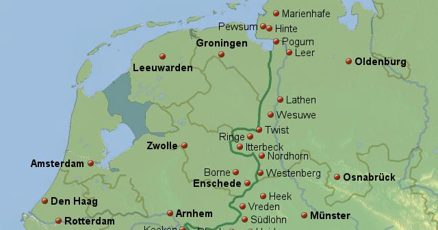 Grenze Zu Niederlande