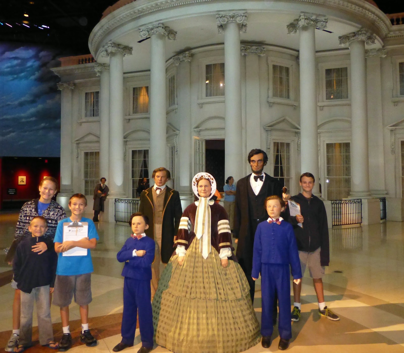 Roadschooling America Abraham Lincoln Presidential Museum
