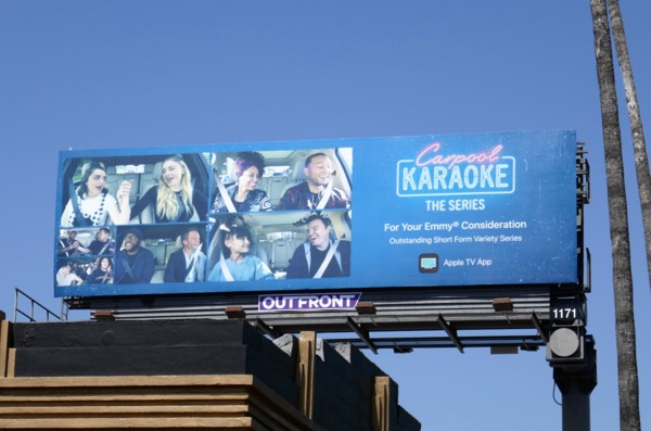 Carpool Karaoke 2018 Emmy FYC billboard
