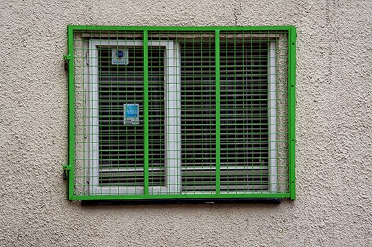 caged in, urban, photography, photo, window security,