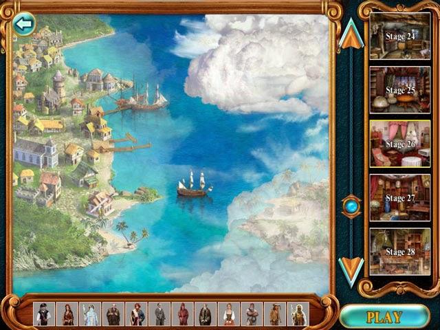 Permainan Ketelitian Mata, Pirate Adventure