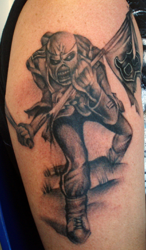 Iron Maiden Tattoo Design And Meanings