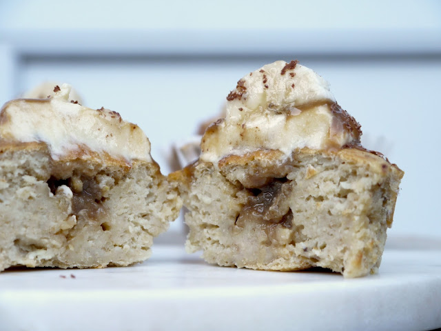 Banoffee Muffins The Betty Stamp