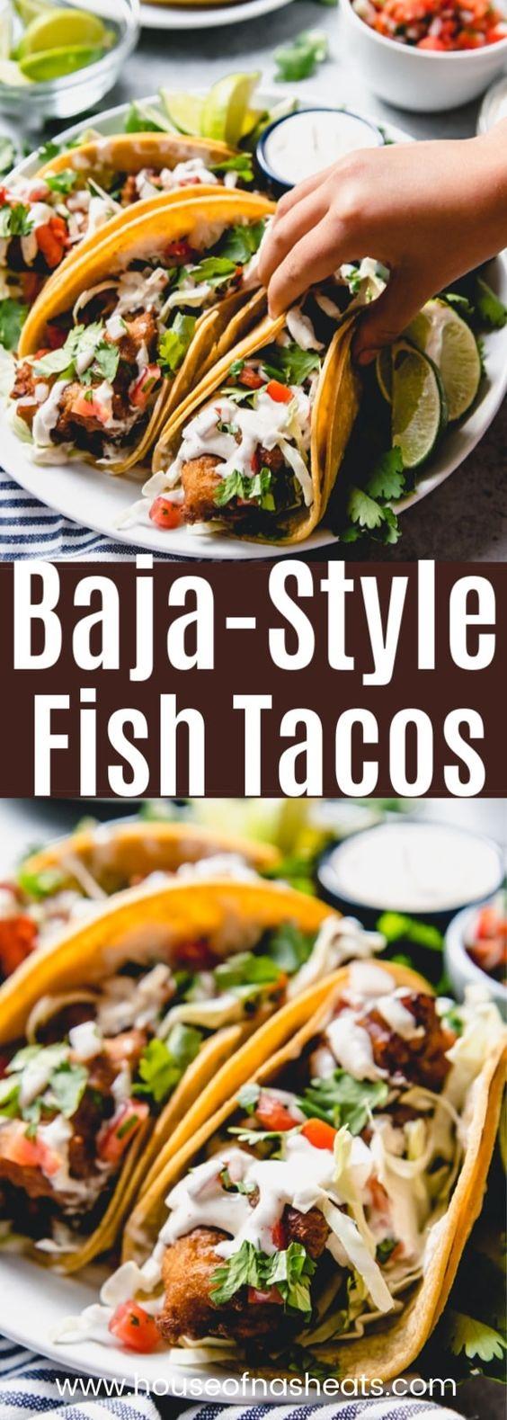 Baja Fish Tacos Recipe