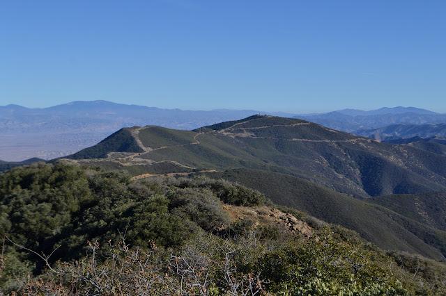 ridge line east