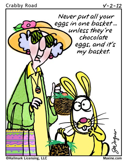 Egg Jokes: Speak Of The Devil: A Day In The Life Of The Easter Bunny