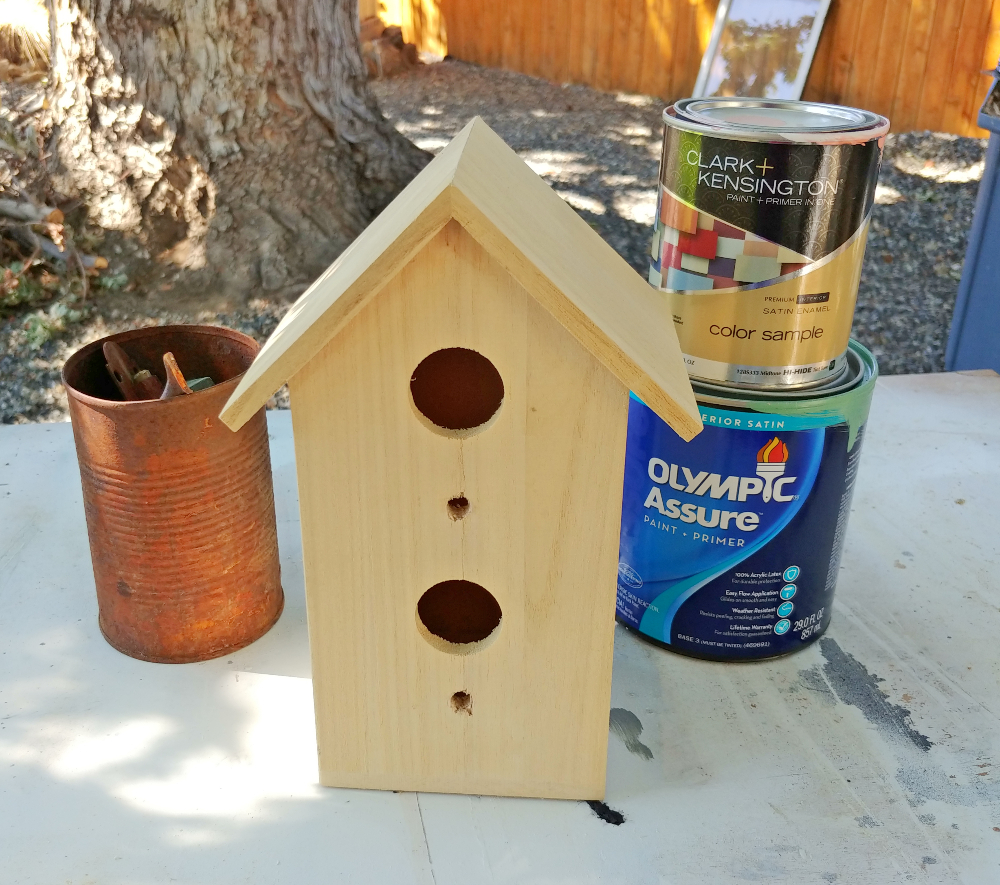 birdhouse makeover