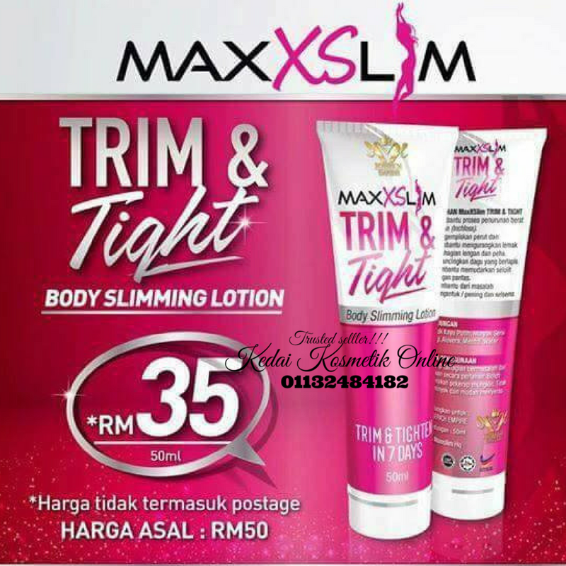 MAXXSLIM LOTION TRIM & TIGHT