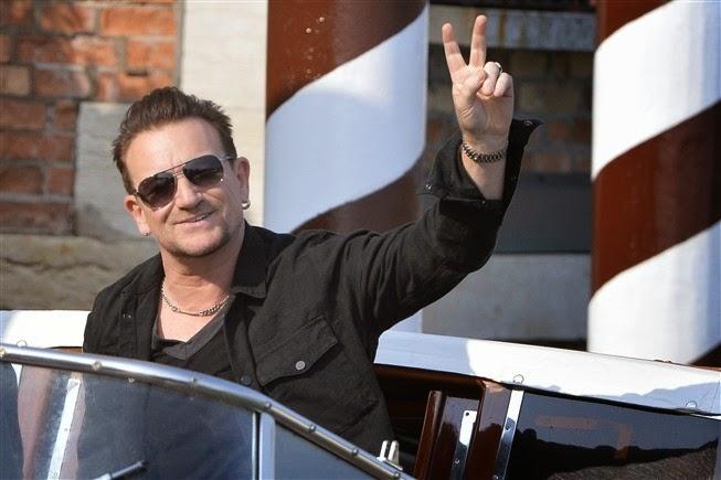 ad6982bcf HM CENTRO ÓPTICO: Bono revela que usa óculos de sol porque sofre de glaucoma