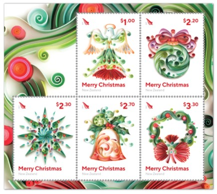 new christmas stamps date of issue 1 november 2017