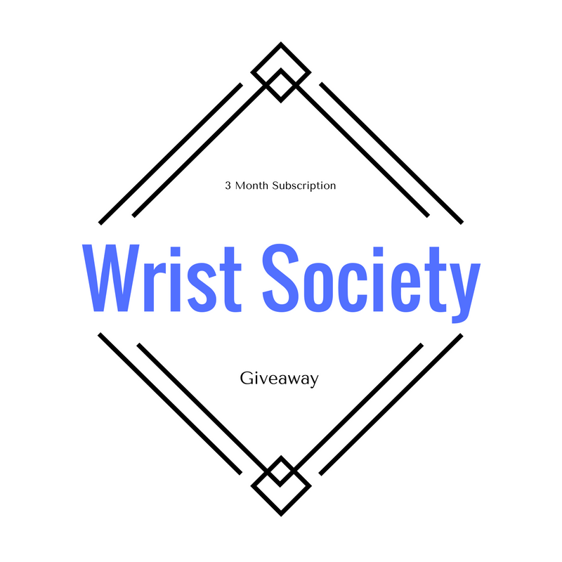 blogger opp 3 month subscription to wrist society amy aron s