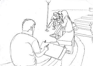 Indonesia's Sketchers: sket bareng di Universitas