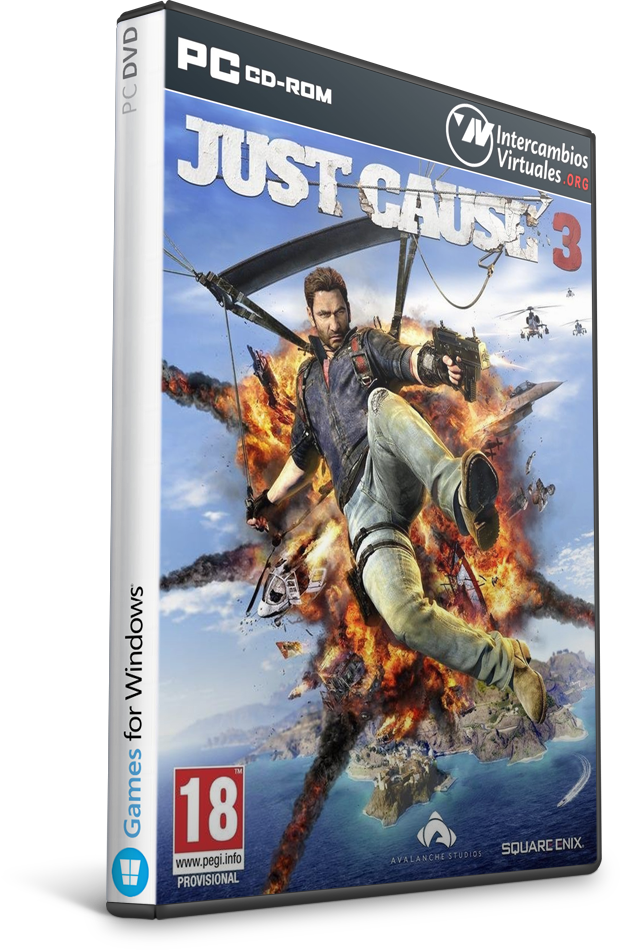 Game Just Cause 3-CPY Free Download [Action/ISO/2017]