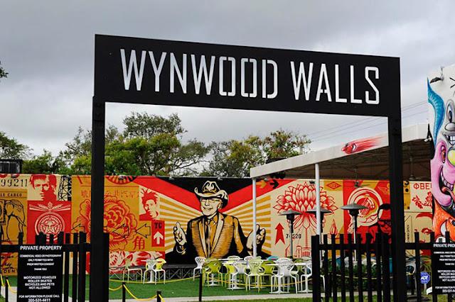 O bairro da arte Wynwood Wall em Miami