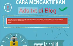 Cara Memasang Ads Txt di Blog