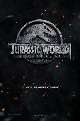JURASSIC WORLD: EL REINO CAIDO - Cartel españa