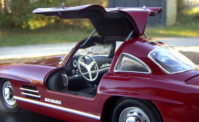 1957 - 1962 Mercedes 300SL Gullwing W194 Interior