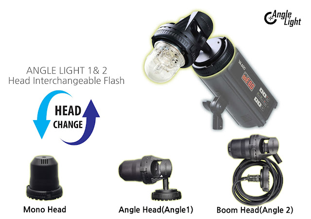 PhotoDynamic Head Interchangeable Flash