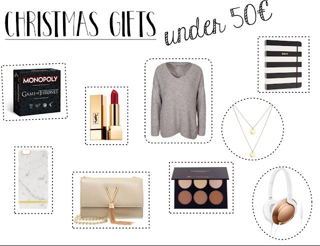 christmas gift guide for girls 2016, geschenkideen für die freundin oder mama, unter 10€, unter 30€, unter 50€, wichtelgeschenke, weihnachtsgeschenke, lifestyleblog aus hessen