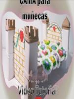 TUTORIAL CAMA MUÑECAS DE CARTON