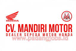 Lowongan Kerja Padang: CV. Mandiri Motor Juli 2018