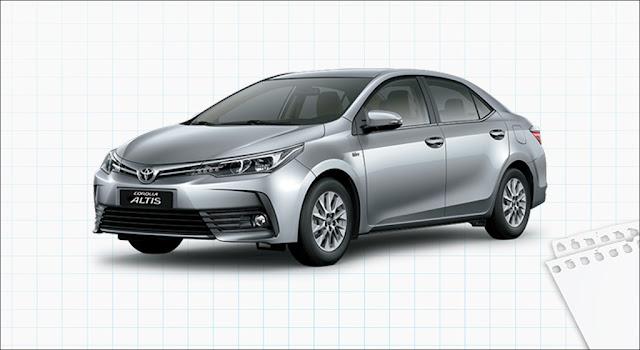 Giá xe Toyota Corolla Altis 1.8E MT 2019