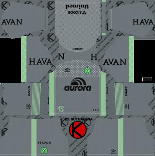 Chapecoense 2018/19 Kit - Dream League Soccer Kits