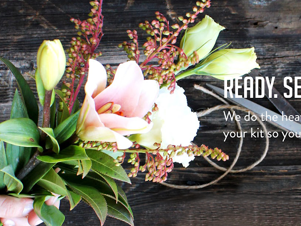 DIY Your Wedding Flowers with Bloominous