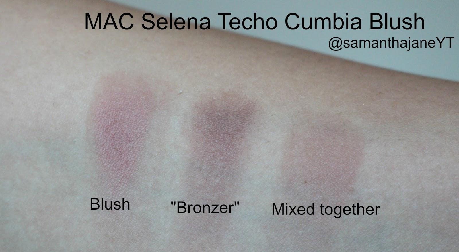 MAC Selena Techo Cumbia Blush Swatch