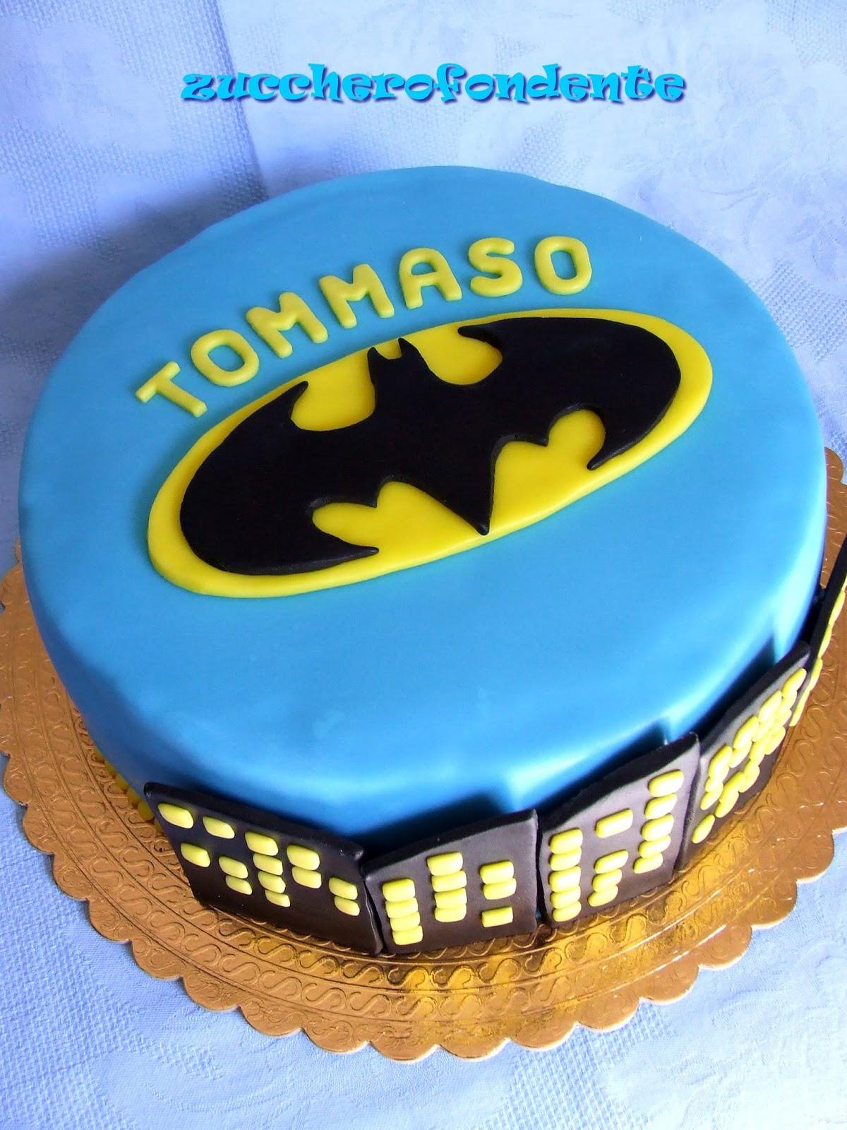 zuccherofondente: Torta Batman