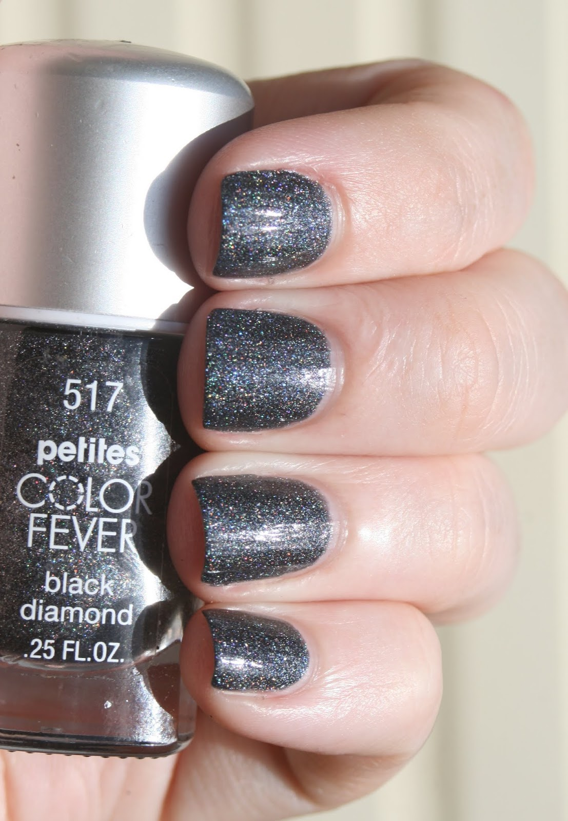Petites Color Fever Black Diamond swatch