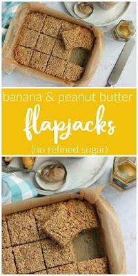 Banana & Peanut Butter Flapjacks