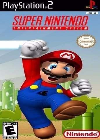 jogo ps2 snes station super nintendo 810701 MLB20385774872 082015 O - snes station for ps2 + 786 games
