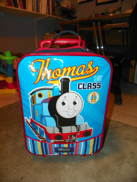Thomas Train Rolling Luggage Case Stew