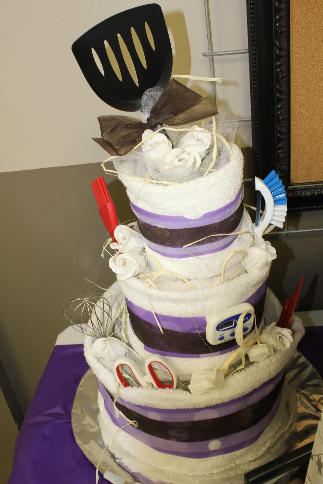 Domestic Randomness Diy Towel Cake Tutorial