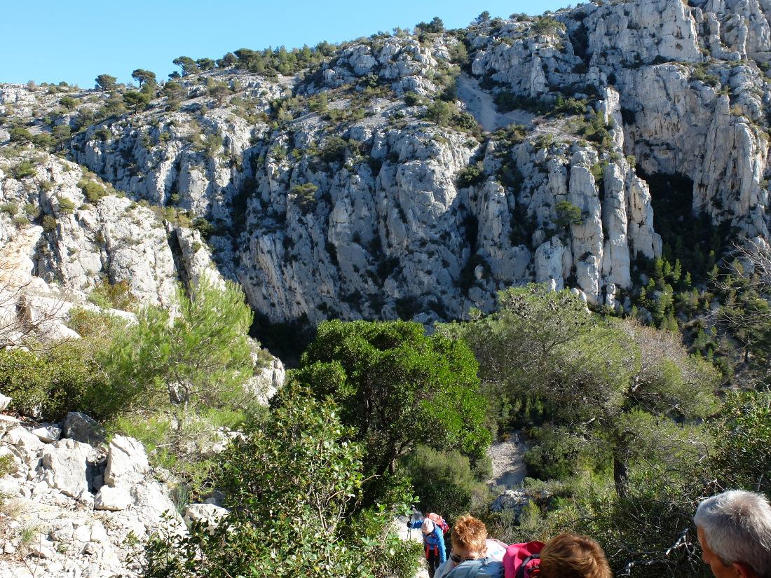 lesdanjean massif des calanques aiguille de l eissadon 3 mars 2016